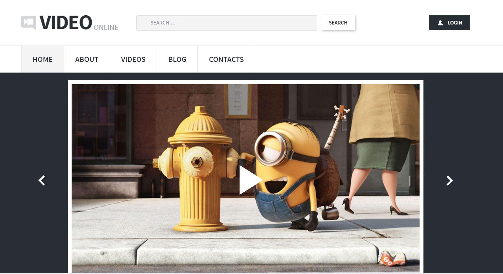 Video Records WordPress Theme