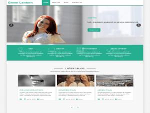 green-lantern-wordpress-theme