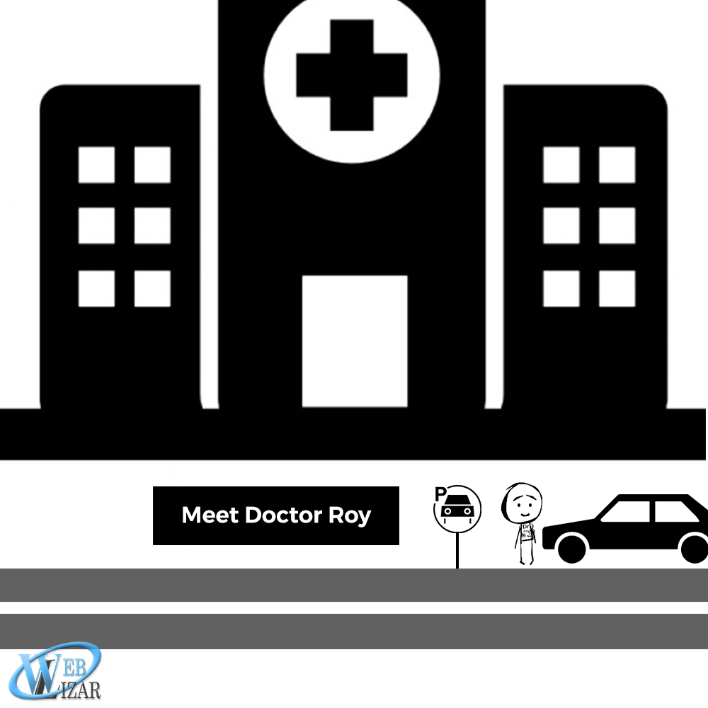 Dr Roy-arrived-at-his-clinic