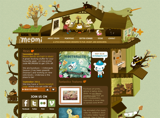 meomi-illustrated-web-design