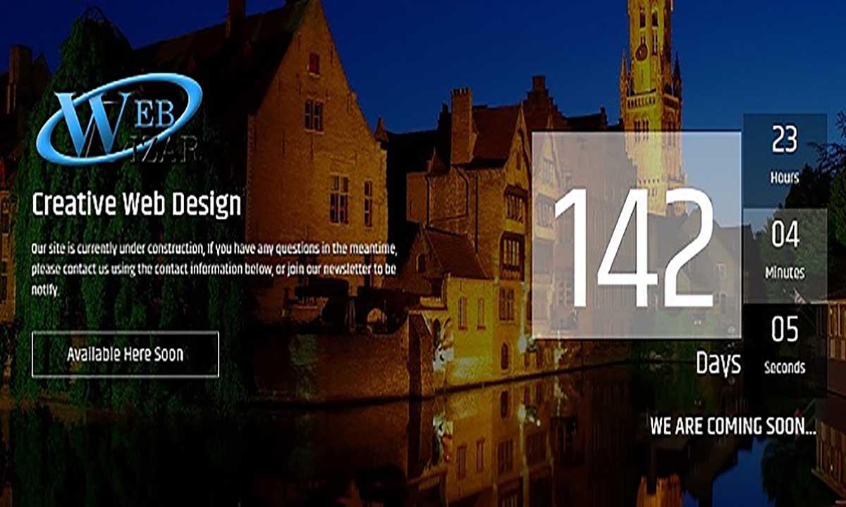 Image of Maintenance Mode Under Construction Page Landing Page wordpress plugin