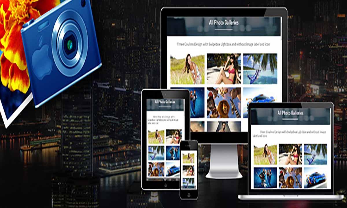 Image of responsive photo gallery wordpress plugin