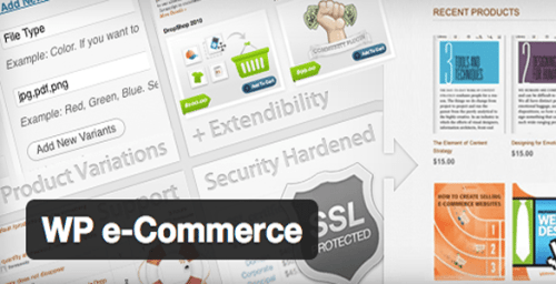 Top 10 Ecommerce Plugins for WordPress WP e-Commerce