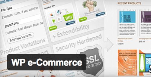 Top 10 Ecommerce Plugins for WordPress WP e-Commerce