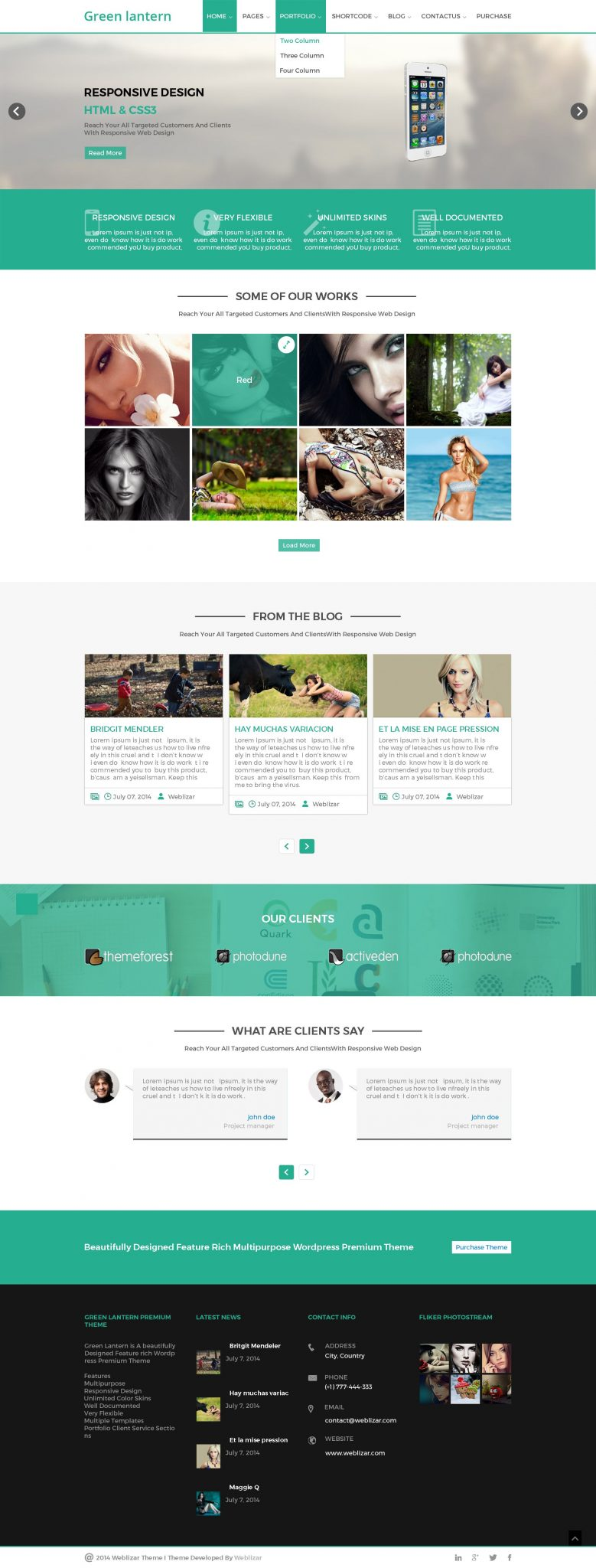 relaunching wordpress themes greenlantern