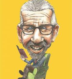 Verhalenverteller Jan Wiersma in de Buurtstee
