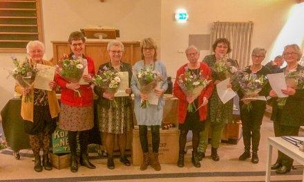 9 jubilarissen bij Passage Staphorst Rouveen