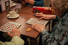 Bingo in het Dienstencentrum
