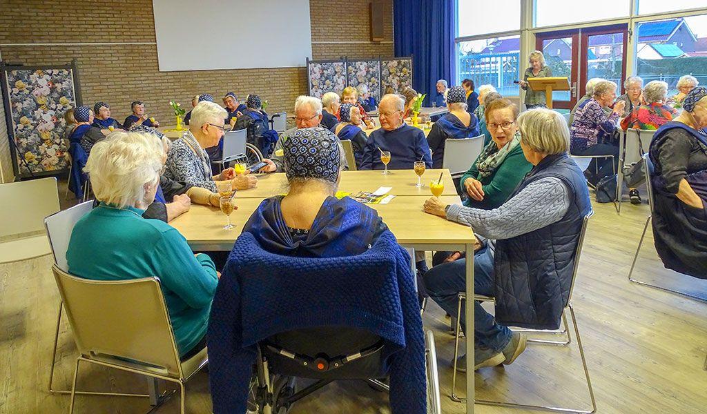 Volle bak nieuwjaarsbijeenkomst Zonnebloem Staphorst 2020