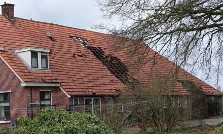 Grote ravage in IJhorst door Storm