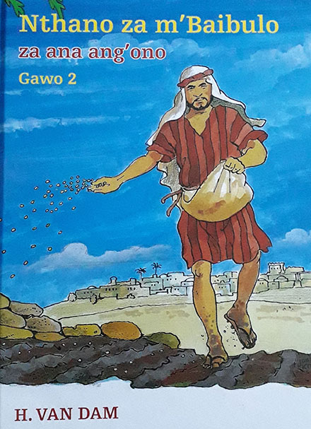 Kinderbijbel Bijbelse vertellingen deel 2 van H. van Dam in Chinyanja/Chichewa