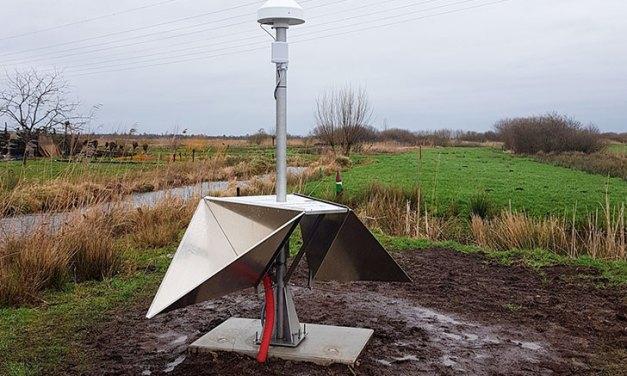 Eerste bodemdalingsmeetsite van Nederland staat in Rouveen