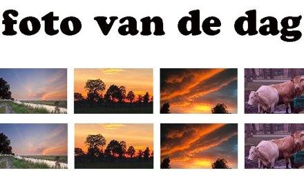 Mooie lucht boven Staphorst Noord