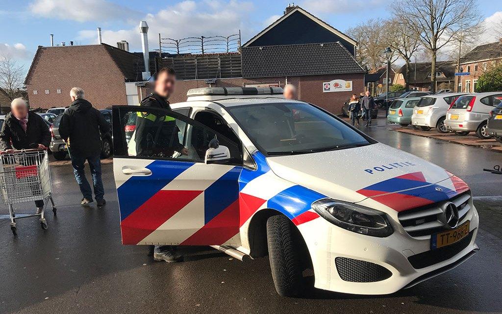 Winkeldief gearresteerd in centrum Staphorst