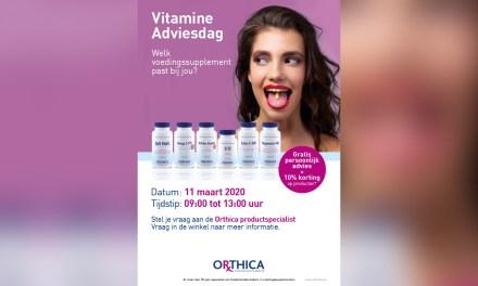 Orthica Vitamine Adviesdag bij DA Meppel