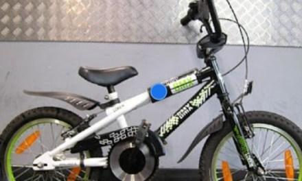 Wie weet waar dit fietsje is?