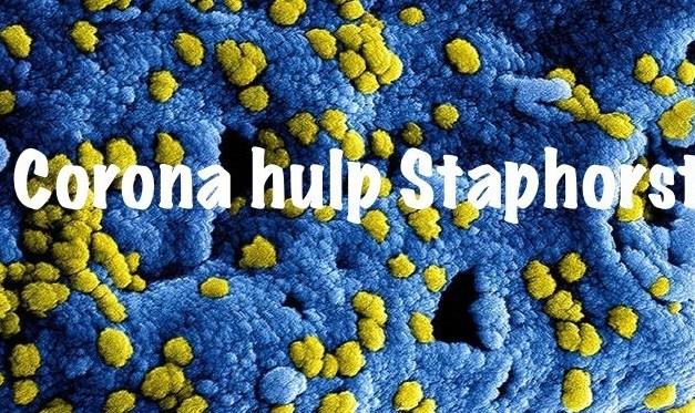 Corona Hulp Staphorst, al bijna 900 aanmeldingen