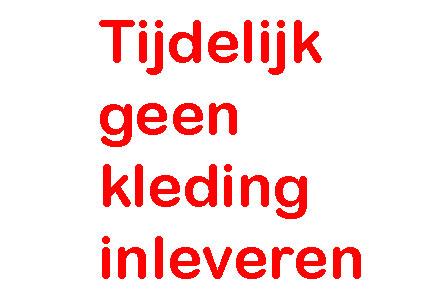 Kledinginzameling van Dorcas in Staphorst en Rouveen gaat dit voorjaar niet door.