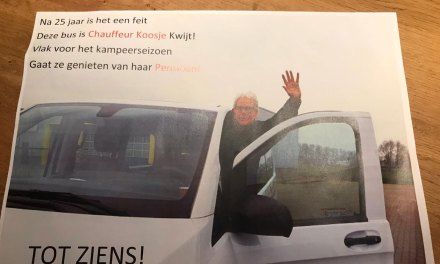 Koosje Uiterwijk met pensioen