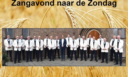 Martin Mans formatie te gast bij zangavond Staphorst