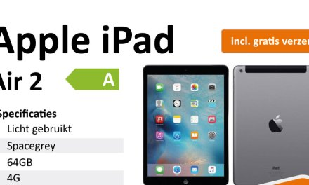Nu! Apple iPad Air 2 bij Dubbelgaaf.nl