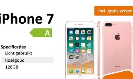 Spectaculaire aanbieding: iPhone 7 met 128GB