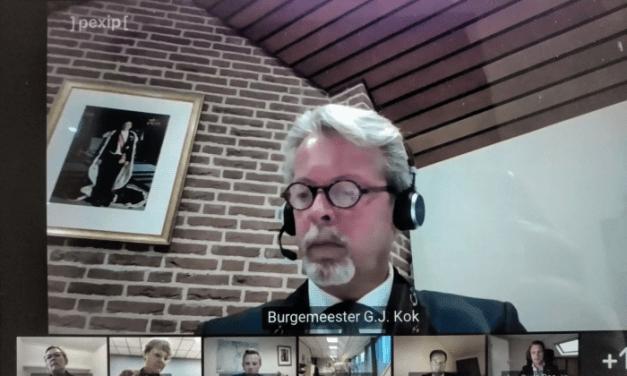 Eerste digitale raadsvergadering Staphorst goed verlopen