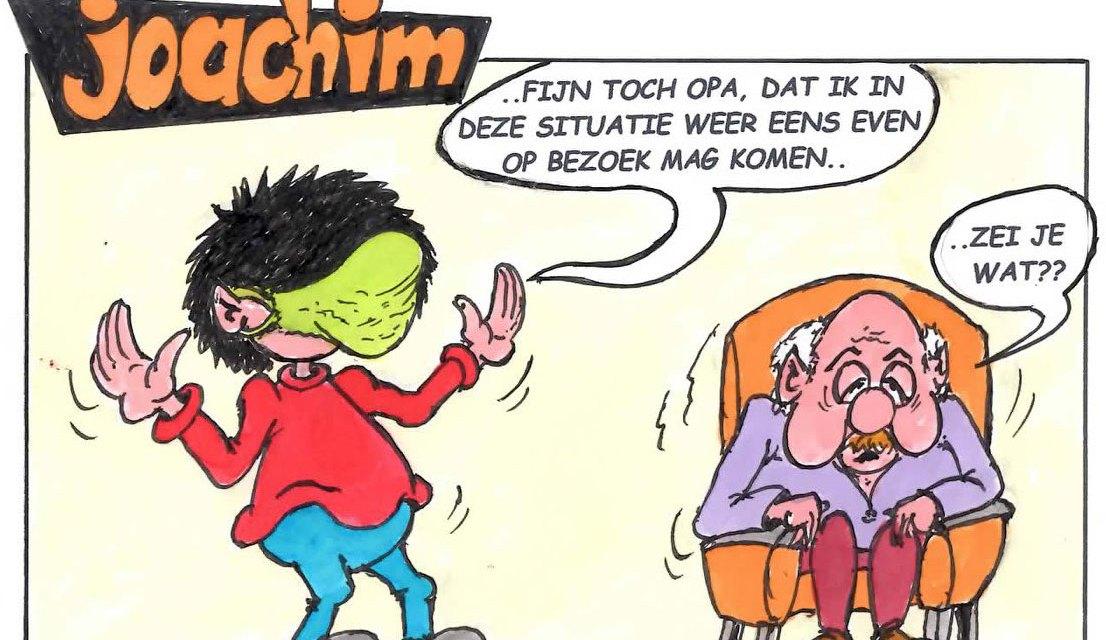 Joachim door Ed Perdok: ..ook voor de ouderen hopelijk z.s.m. weer duidelijkheid…