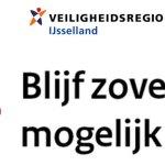 Burgemeesters in IJsselland roepen inwoners op tot rustig Pasen
