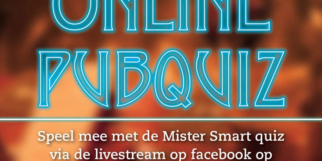Vanavond weer Online Pubquiz