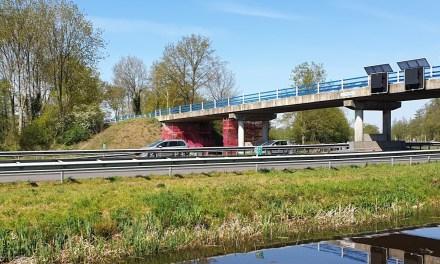 Viaduct Sluitersweg permanent onder stroom (Update)