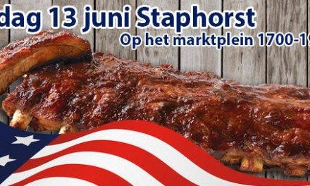 Zaterdag weer warme Spare Ribs in Staphorst