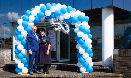 De Rollecate Groep viert het 50-jarig werkjubileum van Henk van der Horst
