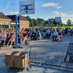 Afscheidsavond van groep 8 van de Doornveldschool in de open lucht