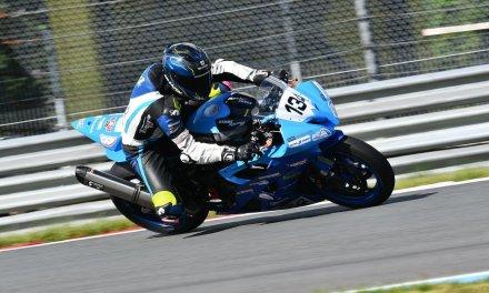 Met acht hechtingen naar achtste plaats in debuutrace Supersport 600