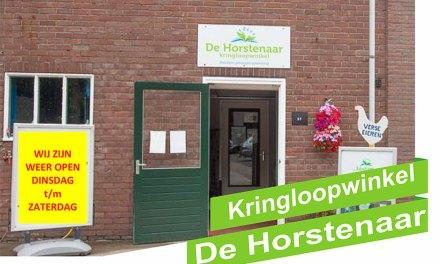 Kringloopwinkel De Horstenaar weer open