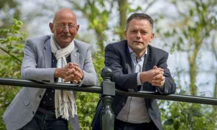 André van Vliet & Jan Lenselink in Bovenkerk, Kampen