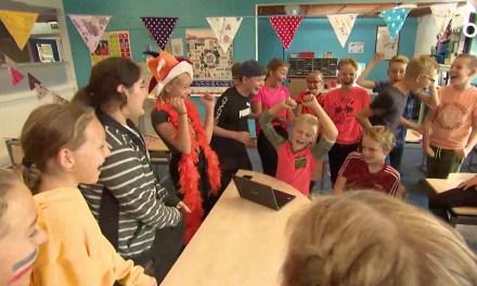 Groep 8 Wegwijzer Nieuwleusen organiseert eigen Oranjefeest