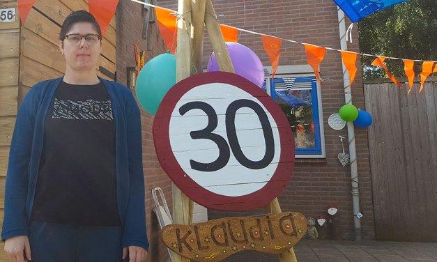 Klaudia Flinkert 30 jaar