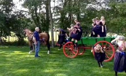 Prinsjesdag 2020 op de Prins Mauritsschool met koets en al
