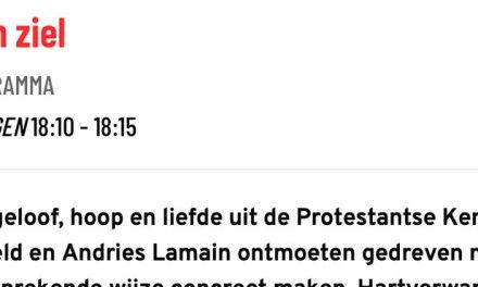 Jan de Lange uit Rouveen op TV