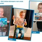Emile, Tess en Vince winnen kleurplatenactie Energiekrant