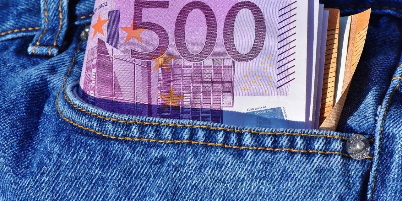 € 500,00 weg te geven…..