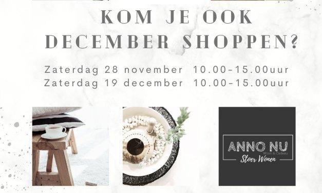 December Shoppen bij Anno Nu!