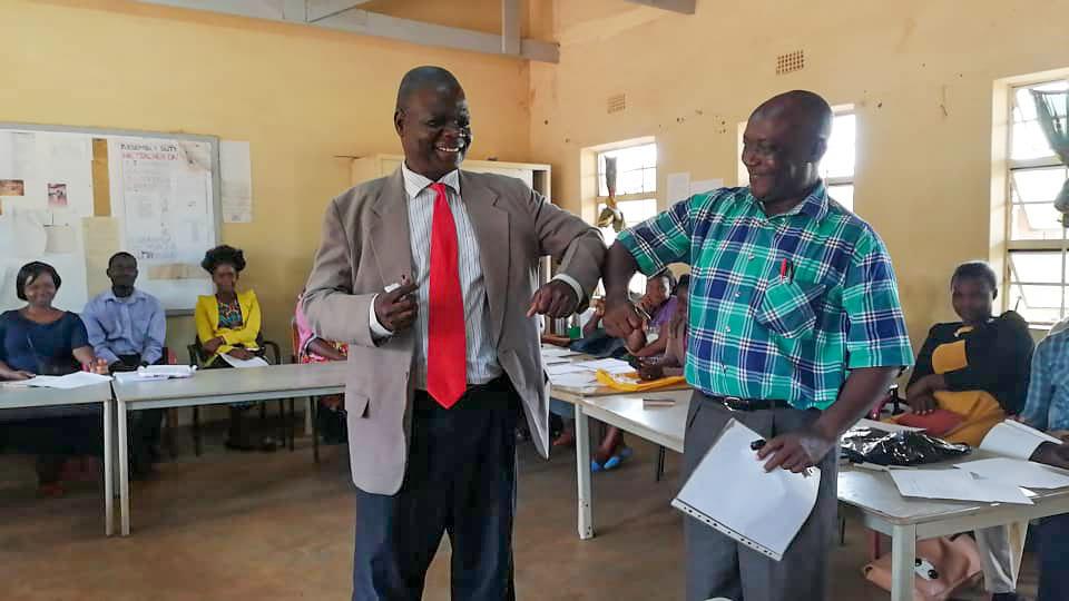 Nieuwe schoolleider Stéphanos Malawi