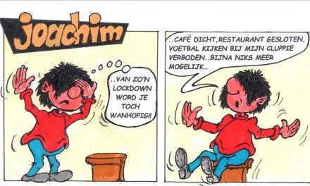Joachim door Ed Perdok: …lockdown of niet, maar sommige MOETEN iets kopen…