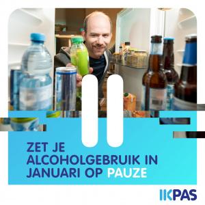 IkPas van start: 30 dagen geen druppel alcohol