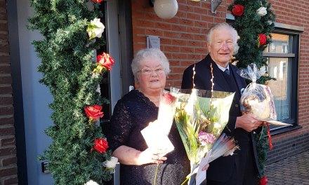 Diamanten Huwelijks Jubileum  voor Jan en Aaltje Kuiers-Hokse