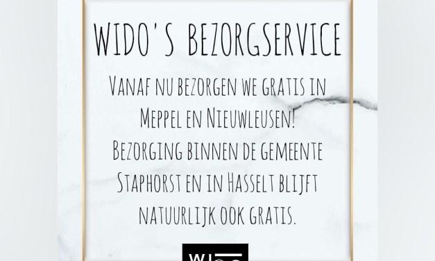 WIDO Heren- en Kinderkleding Webshop 24/7 geopend