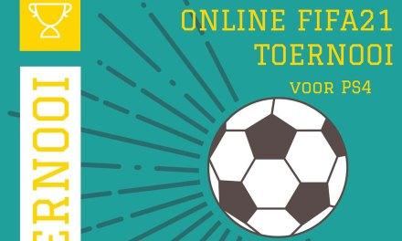 Online FIFA21 Toernooi voor PS4